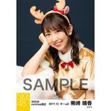 SKE48 2017年12月度 net shop限定個別生写真「2017年 クリスマス」5枚セット 熊崎晴香