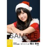 SKE48 2017年12月度 net shop限定個別生写真「2017年 クリスマス」5枚セット 福士奈央