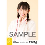 SKE48 2018年1月度 net shop限定個別生写真「巫女」5枚セット 野島樺乃