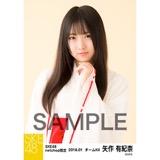 SKE48 2018年1月度 net shop限定個別生写真「巫女」5枚セット 矢作有紀奈