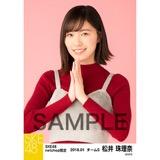 SKE48 2018年1月度 net shop限定個別生写真「ビスチェ」衣装5枚セット 松井珠理奈