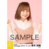 SKE48 2018年1月度 net shop限定個別生写真「ビスチェ」衣装5枚セット 青木詩織
