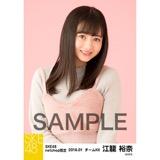 SKE48 2018年1月度 net shop限定個別生写真「ビスチェ」衣装5枚セット 江籠裕奈
