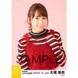 SKE48 2018年1月度 net shop限定個別生写真「ビスチェ」衣装5枚セット 大場美奈