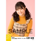SKE48 2018年1月度 net shop限定個別生写真「ビスチェ」衣装5枚セット 北野瑠華