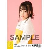 SKE48 2018年1月度 net shop限定個別生写真「ビスチェ」衣装5枚セット 水野愛理