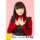 SKE48 2018年1月度 net shop限定個別生写真「ビスチェ」衣装5枚セット 坂本真凛