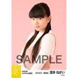SKE48 2018年1月度 net shop限定個別生写真「ビスチェ」衣装5枚セット 深井ねがい