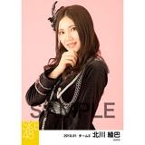 SKE48 2018年1月度 個別生写真「黒コート」5枚セット 北川綾巴