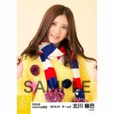 SKE48 2018年1月度 net shop限定個別生写真「ポンポンファー」5枚セット 北川綾巴