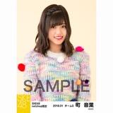SKE48 2018年1月度 net shop限定個別生写真「ポンポンファー」5枚セット 町音葉