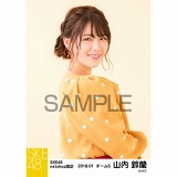 SKE48 2018年1月度 net shop限定個別生写真「ポンポンファー」5枚セット 山内鈴蘭
