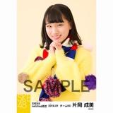 SKE48 2018年1月度 net shop限定個別生写真「ポンポンファー」5枚セット 片岡成美