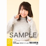 SKE48 2018年1月度 net shop限定個別生写真「ポンポンファー」5枚セット 惣田紗莉渚
