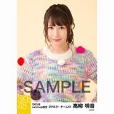 SKE48 2018年1月度 net shop限定個別生写真「ポンポンファー」5枚セット 高柳明音