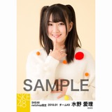SKE48 2018年1月度 net shop限定個別生写真「ポンポンファー」5枚セット 水野愛理