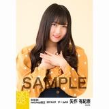 SKE48 2018年1月度 net shop限定個別生写真「ポンポンファー」5枚セット 矢作有紀奈