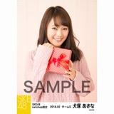 SKE48 2018年2月度 net shop限定個別生写真「バレンタイン」5枚セット 犬塚あさな