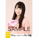 SKE48 2018年2月度 net shop限定個別生写真「バレンタイン」5枚セット 井上瑠夏
