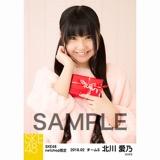 SKE48 2018年2月度 net shop限定個別生写真「バレンタイン」5枚セット 北川愛乃