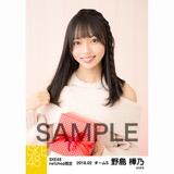 SKE48 2018年2月度 net shop限定個別生写真「バレンタイン」5枚セット 野島樺乃
