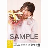 SKE48 2018年2月度 net shop限定個別生写真「バレンタイン」5枚セット 山内鈴蘭