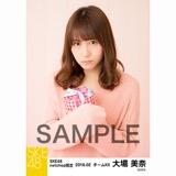 SKE48 2018年2月度 net shop限定個別生写真「バレンタイン」5枚セット 大場美奈