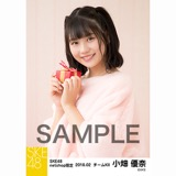 SKE48 2018年2月度 net shop限定個別生写真「バレンタイン」5枚セット 小畑優奈