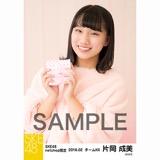 SKE48 2018年2月度 net shop限定個別生写真「バレンタイン」5枚セット 片岡成美