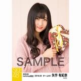 SKE48 2018年2月度 net shop限定個別生写真「バレンタイン」5枚セット 矢作有紀奈
