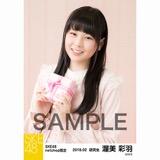 SKE48 2018年2月度 net shop限定個別生写真「バレンタイン」5枚セット 渥美彩羽