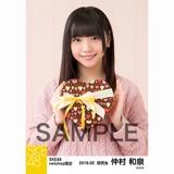 SKE48 2018年2月度 net shop限定個別生写真「バレンタイン」5枚セット 仲村和泉