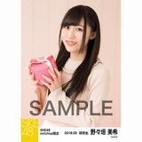 SKE48 2018年2月度 net shop限定個別生写真「バレンタイン」5枚セット 野々垣美希