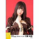 SKE48 2018年2月度 net shop限定個別生写真「バレンタインII」5枚セット 江籠裕奈