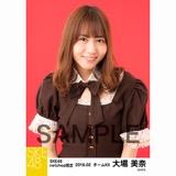 SKE48 2018年2月度 net shop限定個別生写真「バレンタインII」5枚セット 大場美奈