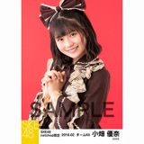 SKE48 2018年2月度 net shop限定個別生写真「バレンタインII」5枚セット 小畑優奈