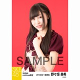SKE48 2018年2月度 net shop限定個別生写真「バレンタインII」5枚セット 野々垣美希