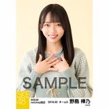 SKE48 2018年2月度 net shop限定個別生写真「ニットワンピース」5枚セット 野島樺乃