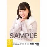 SKE48 2018年2月度 net shop限定個別生写真「ニットワンピース」5枚セット 片岡成美