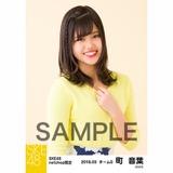 SKE48 2018年3月度 net shop限定個別生写真「花柄スカート」5枚セット 町音葉