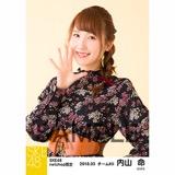SKE48 2018年3月度 net shop限定個別生写真「花柄スカート」5枚セット 内山命