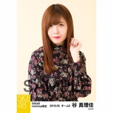 SKE48 2018年3月度 net shop限定個別生写真「花柄スカート」5枚セット 谷真理佳