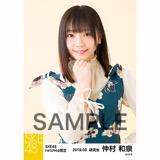 SKE48 2018年3月度 net shop限定個別生写真「花柄スカート」5枚セット 仲村和泉