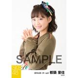 SKE48 2018年3月度 個別生写真「アルファベット」衣装5枚セット 都築里佳