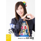 SKE48 2018年3月度 個別生写真「アルファベット」衣装5枚セット 松井珠理奈