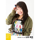 SKE48 2018年3月度 個別生写真「アルファベット」衣装5枚セット 山田樹奈