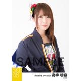 SKE48 2018年3月度 個別生写真「アルファベット」衣装5枚セット 高柳明音