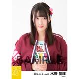 SKE48 2018年3月度 個別生写真「アルファベット」衣装5枚セット 水野愛理