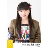 SKE48 2018年3月度 個別生写真「アルファベット」衣装5枚セット 深井ねがい