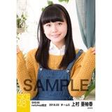 SKE48 2018年3月度 net shop限定個別生写真「ガーデン」5枚セット 上村亜柚香